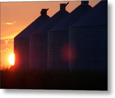 Sunset I Metal Print by Sarah Boyd