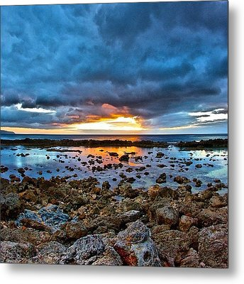 #sunset #ignation #igtube #instalike Metal Print by Brian Governale