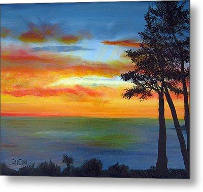 Sunset IIi Metal Print by Dottie Kinn