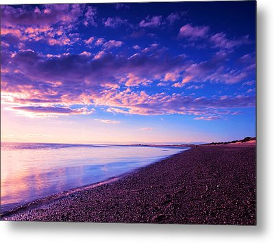 Sunset In Cape Cod Boston Massachusetts  Metal Print