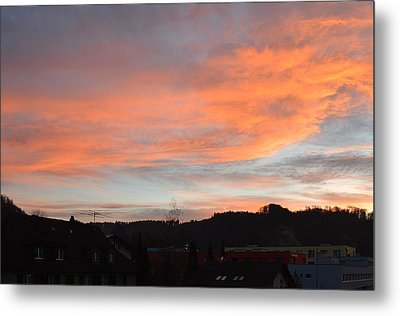 Metal Print featuring the photograph Sunset In December by Felicia Tica