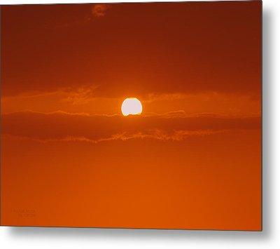 Sunset In Kona Metal Print by Athala Carole Bruckner