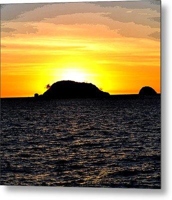 Sunset In Madagascar Metal Print by Ernesto Cinquepalmi