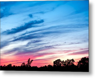 Sunset In Ontario Canada Metal Print by Marek Poplawski