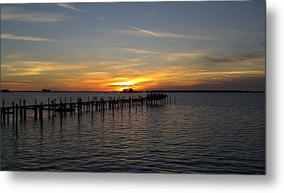 Sunset In Paradise Metal Print by Kenny Cannon