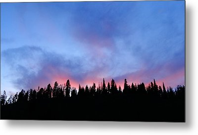 Sunset In The Tetons Metal Print by Dan Sproul