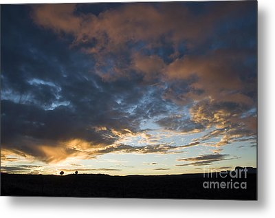 Sunset In Utah Metal Print by Delphimages Photo Creations