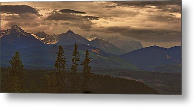 Sunset In Yoho Metal Print