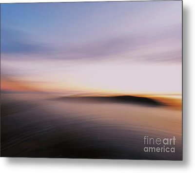 Sunset Island Dreaming Metal Print by Andy Prendy