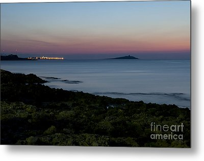 Sunset Island Metal Print by Francesco Zappala