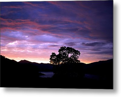 Sunset Lake Metal Print by Matt Harang