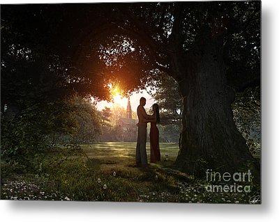 Sunset Lovers Metal Print by Dominic Davison