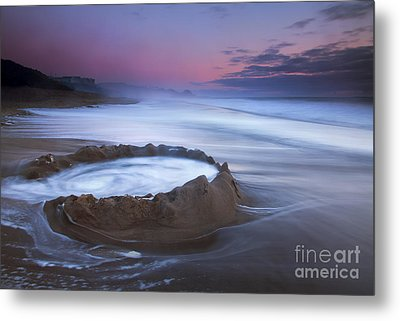 Sunset Maelstrom Metal Print