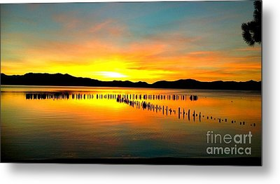 Sunset Metal Print by Marguerite Spieker