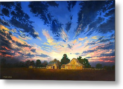 Sunset Memories Metal Print
