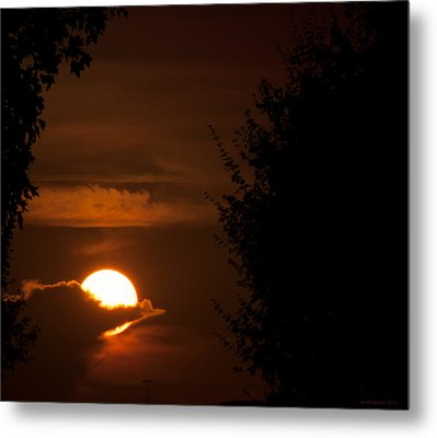 Sunset Metal Print by Miguel Winterpacht