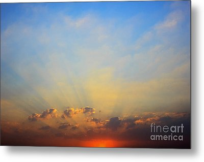 Sunset Metal Print by Mohamed Elkhamisy