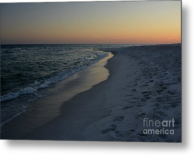 Sunset Navarre Beach Metal Print