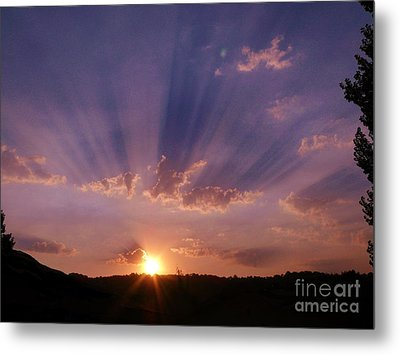 Sunset Of Dreams Metal Print by Jacquelyn Roberts