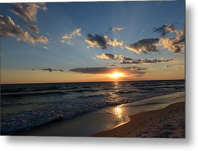 Sunset On Alys Beach Metal Print by Julia Wilcox