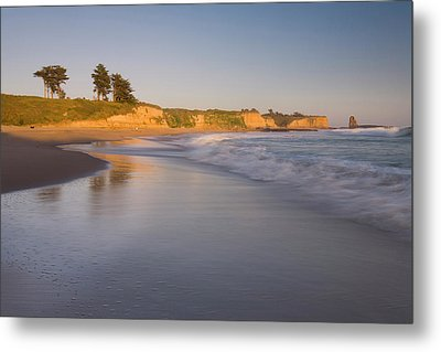 Sunset On Four-mile Beach Metal Print