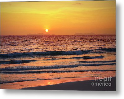 Sunset On Phiphi Island Metal Print