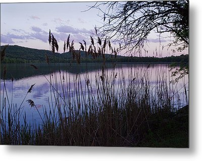 Metal Print featuring the photograph Sunset On Rockland Lake - New York by Jerry Cowart