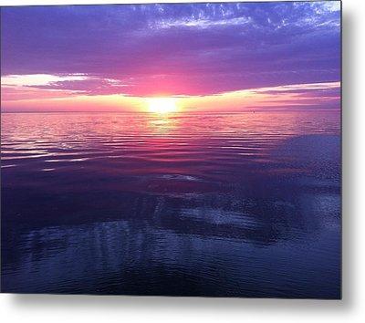 Metal Print featuring the photograph Sunset On The Bay by Tiffany Erdman