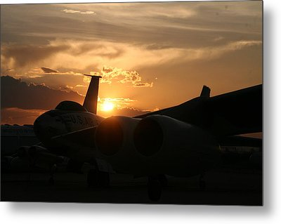 Sunset On The Cold War Metal Print