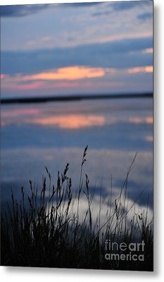 Sunset On The Lake Metal Print by Birches Photography