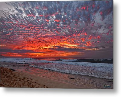Metal Print featuring the photograph Sunset On The North Shore by Aloha Art