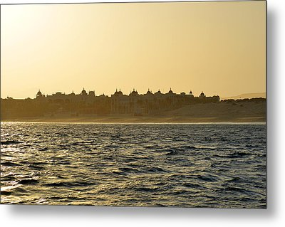 Sunset Over Cabo Metal Print