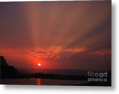 Sunset Over Hope Island 2 Metal Print