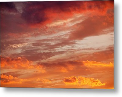 Sunset Over Loughrigg Metal Print by Ashley Cooper