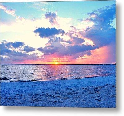 Sunset Over Rehoboth Bay Metal Print