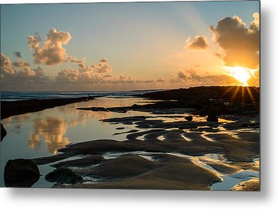 Sunset Over The Ocean IIi Metal Print by Marco Oliveira