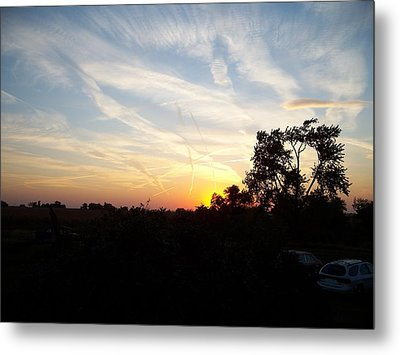 Sunset Metal Print by Randy Stamper