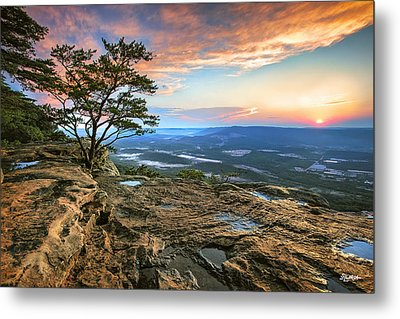 Sunset Rock Lookout Mountain  Metal Print