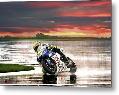 Sunset Rossi Metal Print