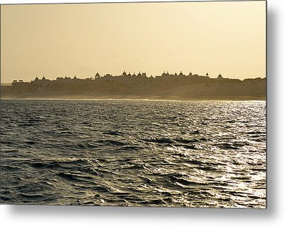 Sunset Sailing In Cabo Metal Print