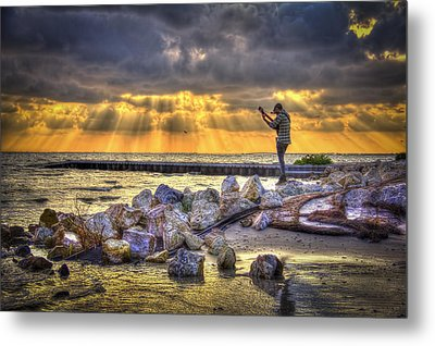 Sunset Serenade  Metal Print by Marvin Spates
