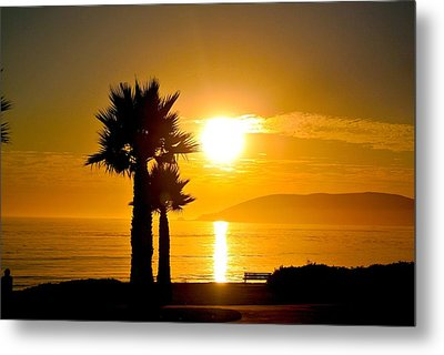 Metal Print featuring the photograph Sunset Serenity  by Tamara Bettencourt