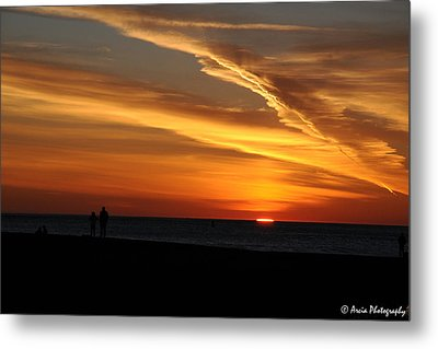 Sunset Sliver Metal Print