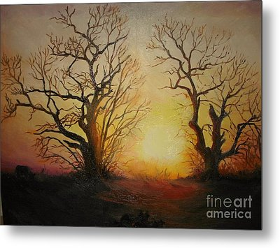 Sunset Metal Print by Sorin Apostolescu