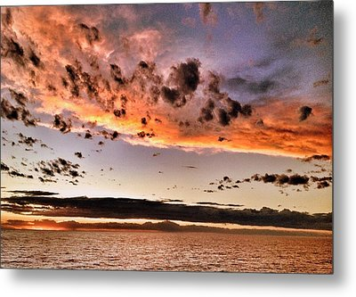 Sunset South America Metal Print
