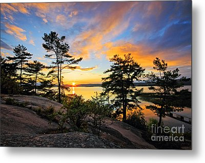 Sunset Spectrum Metal Print by Charline Xia