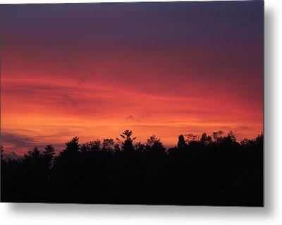 Sunset Tones Metal Print by Tom Culver