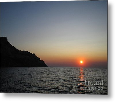 Sunset Metal Print by Vicki Spindler
