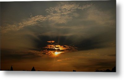 Sunsets On Empire Metal Print