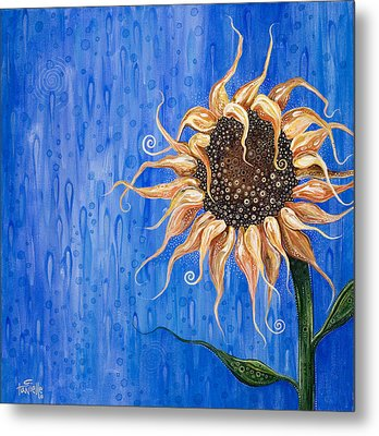 Sunshine After The Rain Metal Print by Tanielle Childers